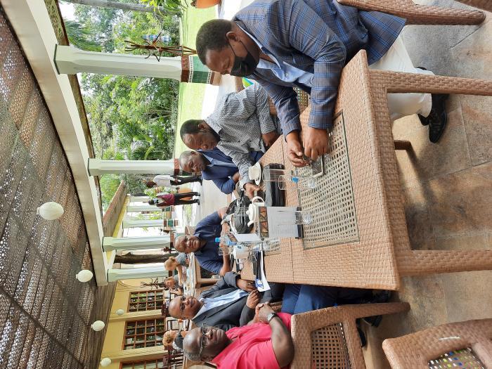 wajumbe katika kikao kilichofanyika Serena Hotel